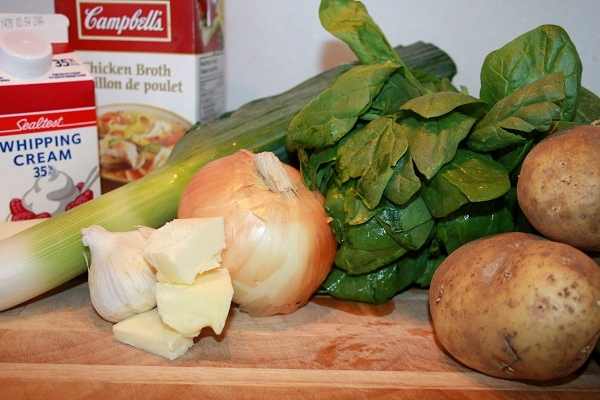 Country Hardy Leek and Potato  Soup