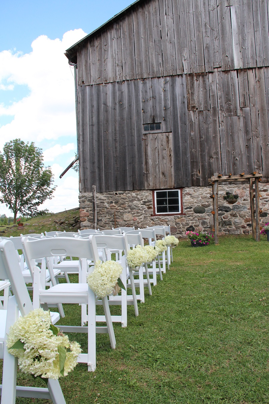 DIY Barn Wedding