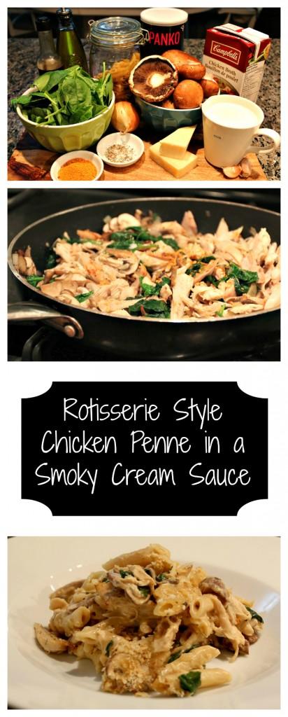 Rotisserie Style Chicken Penne Pasta
