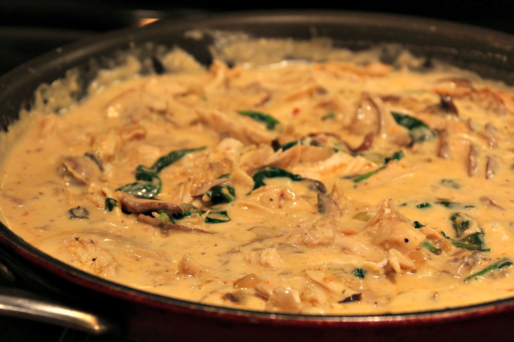 Rotisserie Style Chicken Penne in Smoky Cream Sauce