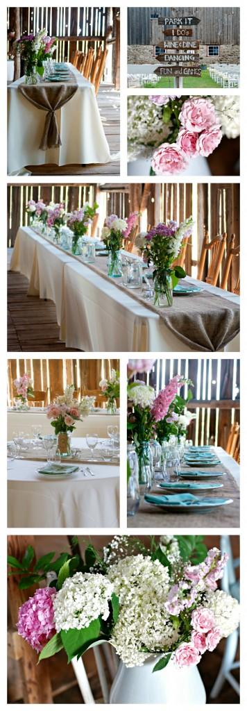 Rustic DIY Barn Wedding