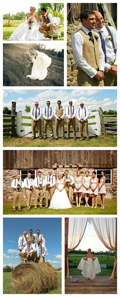 Rustic Farm Wedding Poses