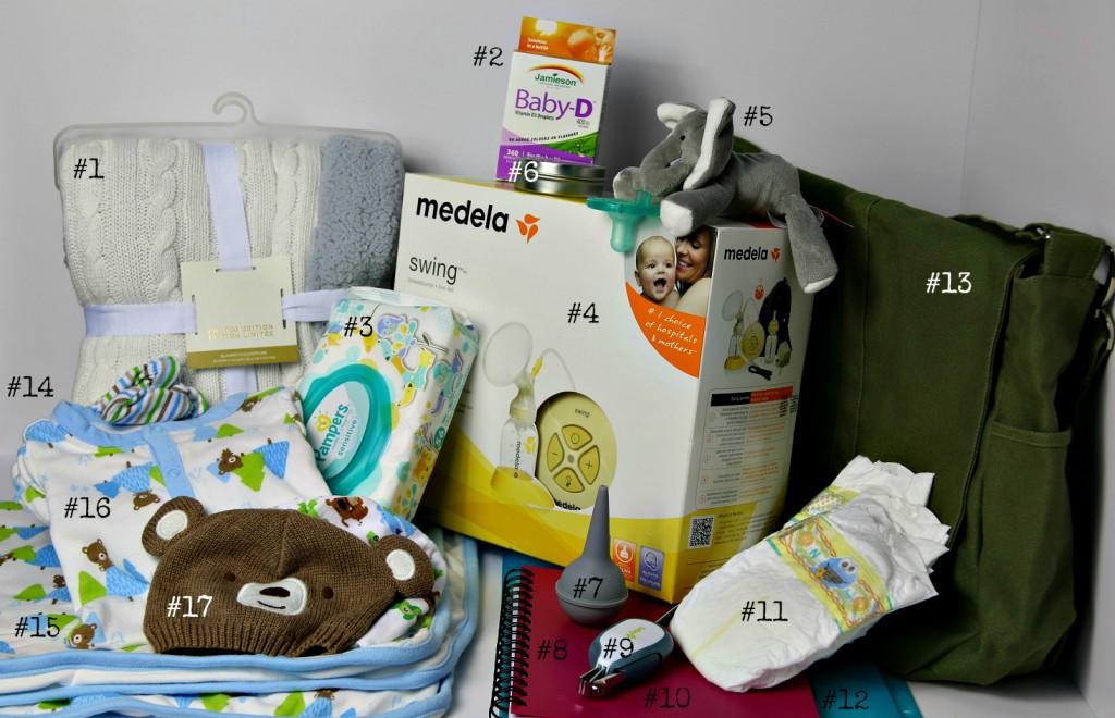 babies hospital bag