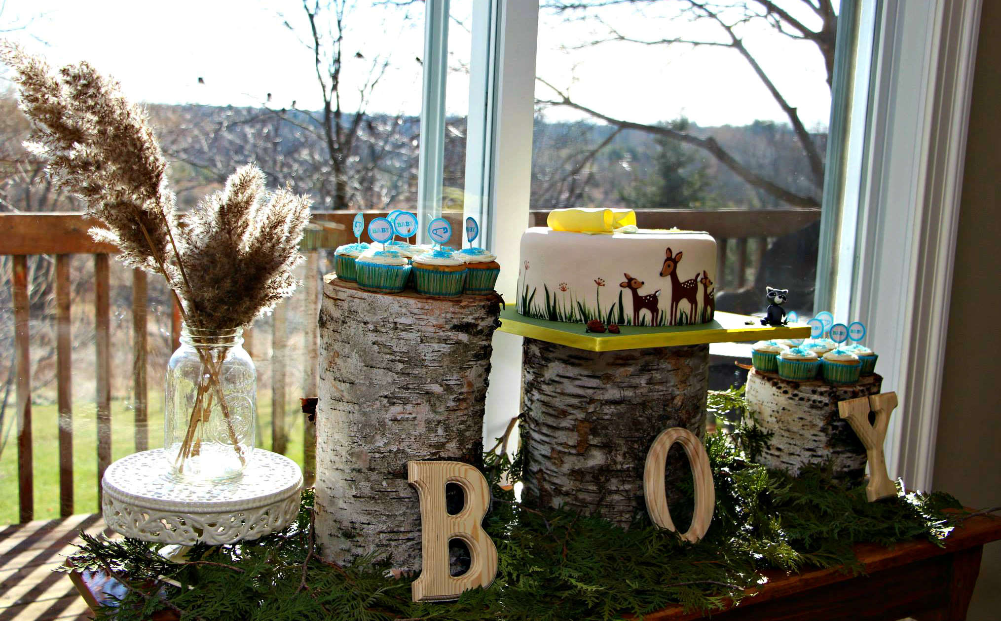 Woodland Theme Baby Shower The Northern Nest