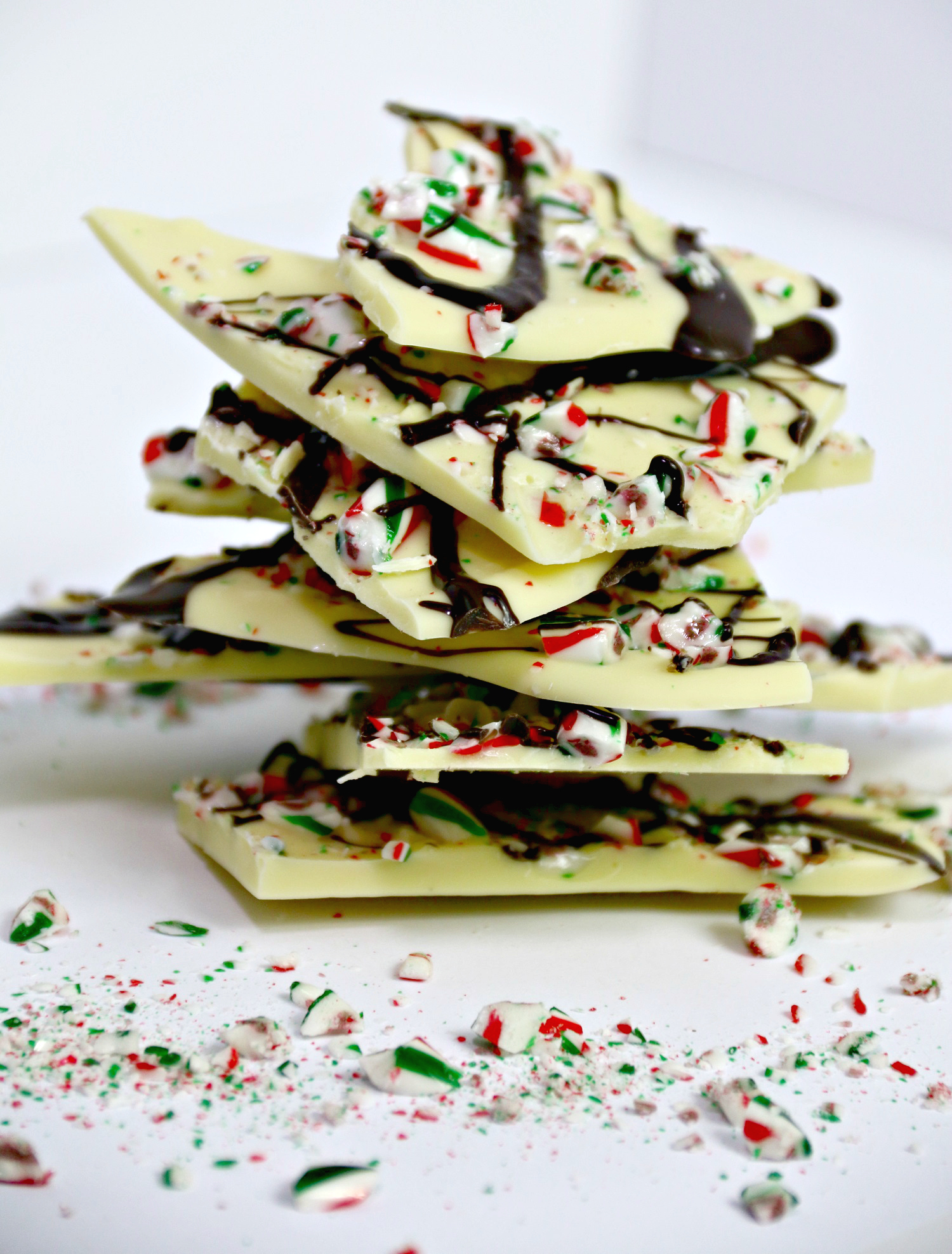 White Chocolate Peppermint Bark - The Northern Nest