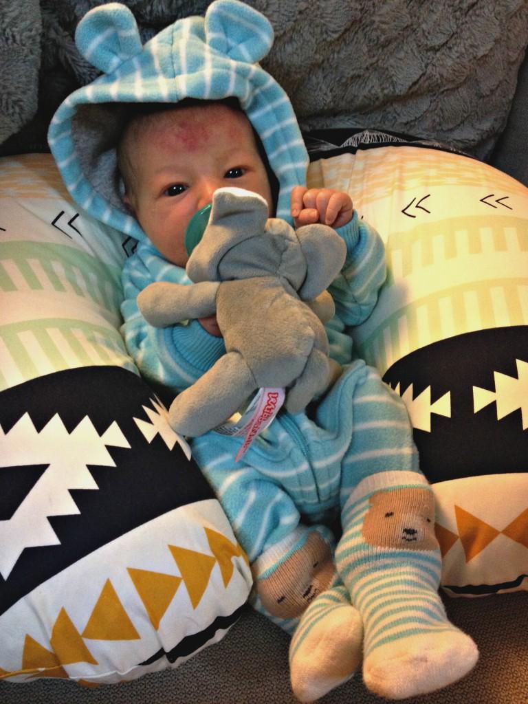 mason 5 days old
