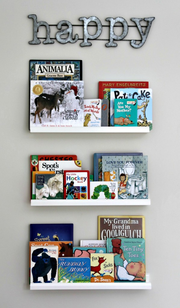 book wall idea